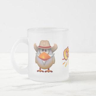 Plumendini Frosted Glass Mug