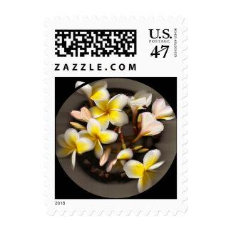 Plumeria Bouquet Postage Stamp