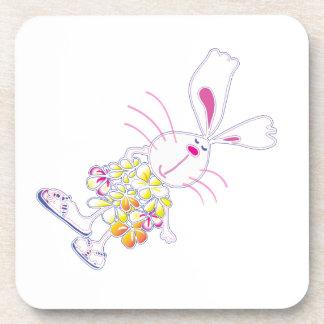 Plumeria Bunny Coaster