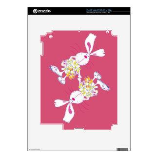 Plumeria Bunny Skin For The iPad 2
