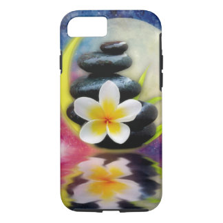 plumeria design iPhone 8/7 case