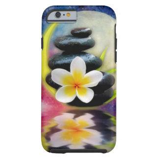 plumeria design tough iPhone 6 case