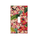 Plumeria Floral Flower Tropical Light Switch Cover
