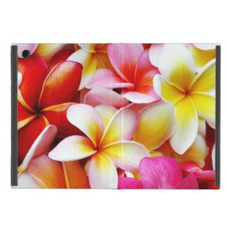 Plumeria Flowers Hawaiian Frangipani Floral Cover For iPad Mini