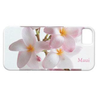 Plumeria Flowers Maui Hawaii iPhone SE/5/5s Case