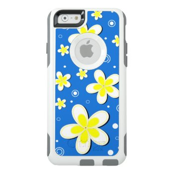 Plumeria Frangipani Floral Otterbox Iphone 6 Cases by sunnymars at Zazzle