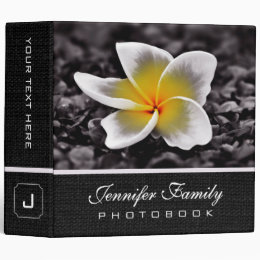 Plumeria Frangipani Flower Family Photo Books #2 Binder