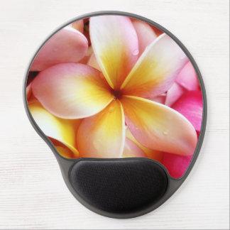 Plumeria Frangipani Hawaii Flower Flowers Template Gel Mouse Pad