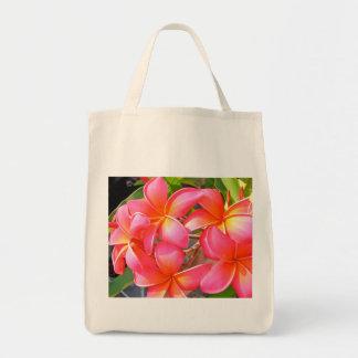 Plumeria Grocery Tote Tote Bag