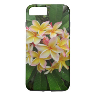 Plumeria hawaiano funda iPhone 7 plus