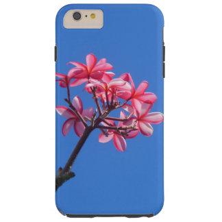 Plumeria hawaiano funda resistente iPhone 6 plus