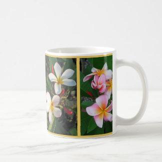 Plumeria Hawaiian Flowers Wrapped Around Mug