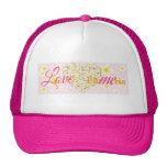 Plumeria Heart  Love Me Trucker Hats