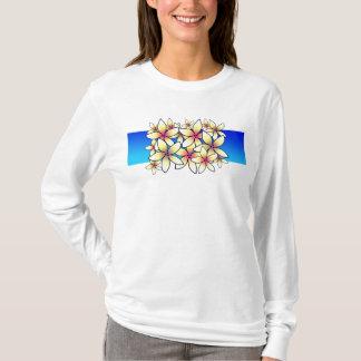 Plumeria Hoodie T-shirt