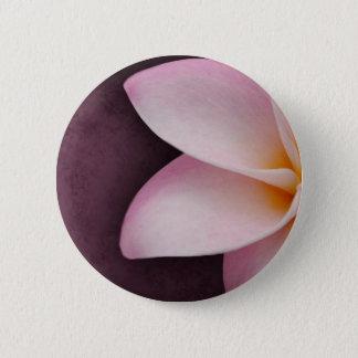 Plumeria in pink button