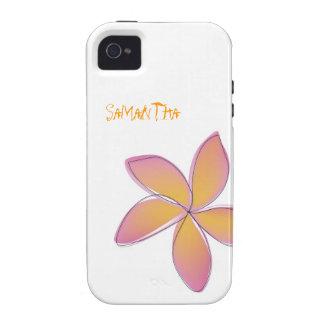 Plumeria iPhone 4 Covers