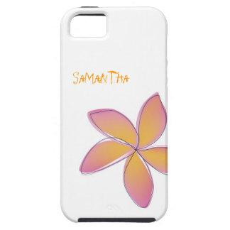 Plumeria iPhone 5 Case