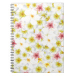 Plumeria Love Me Spiral Notebooks