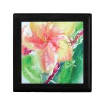 plumeria, Maui, Hawaii, tropical, isla, flor Caja De Joyas
