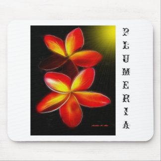 Plumeria Mouse Pads