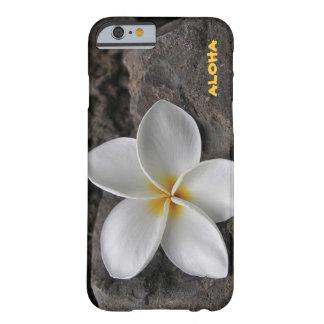 Plumeria on the rocks iPhone 6 case