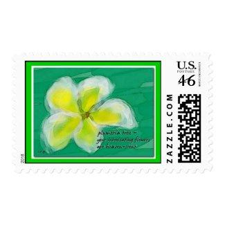 Plumeria Postage stamp