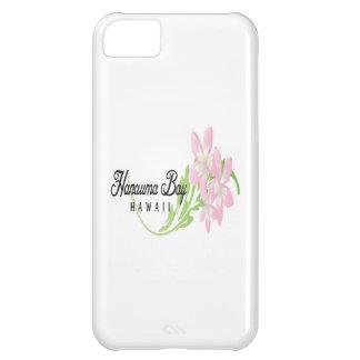 Plumeria rosado de Hawaii Funda Para iPhone 5C