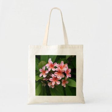 OnlineProducts4U Plumeria shopping farrowed tote bag