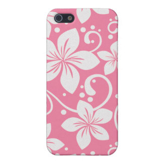 Plumeria Swirl Pink 1 Cases For iPhone 5