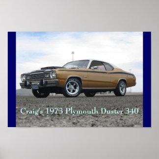 Plumero 1973 de Plymouth de Craig 340 Impresiones