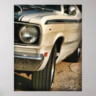 Plumero 340 de Plymouth cuádruple Posters