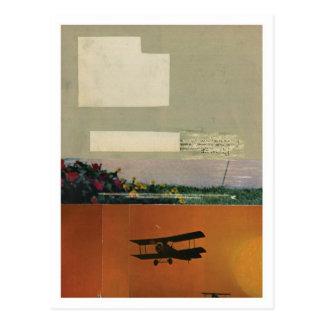 Plumeros de la cosecha tarjetas postales