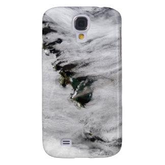 Plumes from Okmok Volcano, Aleutian Islands Galaxy S4 Case