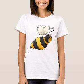 Plump Bee Womens T-Shirt