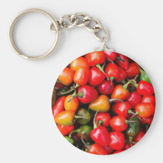Plump Cherry Peppers Keychain