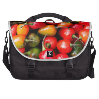 Plump Cherry Peppers Laptop Computer Bag