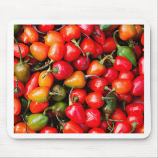 Plump Cherry Peppers Mouse Pad