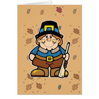 plump lil pilgrim greeting cards