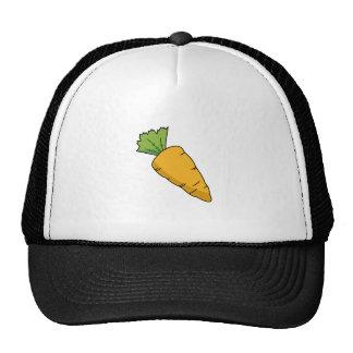 Plump Orange Cartoon Carrot Trucker Hat