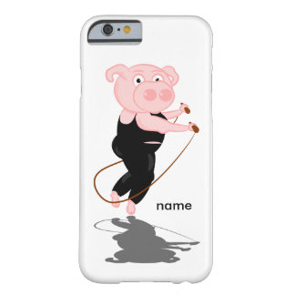 Plump Pig Jumping Rope Barely There iPhone 6 Case