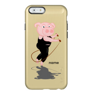 Plump Pig Jumping Rope Incipio Feather® Shine iPhone 6 Case