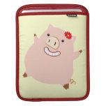 Plump Piggy iPad Sleeves