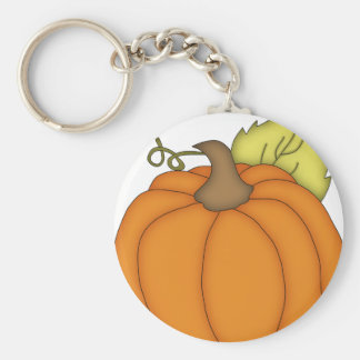 Plump Pumpkin Key Chain