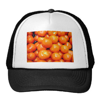 Plump ripe tomatoes trucker hat