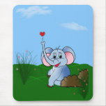 Plumpy Love Mouse Pad