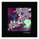 Plumule · Arte del fractal · Púrpura y aguamarina Anuncio