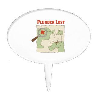 Plunder Lust Cake Picks