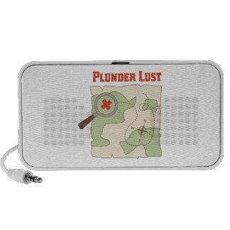 Plunder Lust Mini Speakers