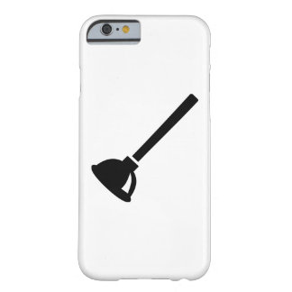 Plunger plumber barely there iPhone 6 case