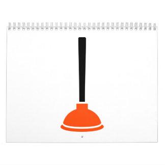 Plunger plumber calendar
